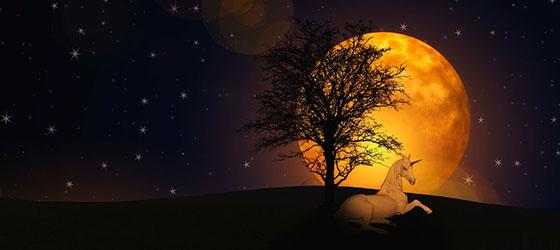 moon stars profile photos 8 عکس پروفایل ماه و ستاره فانتزی و کارتونی زیبا در شب