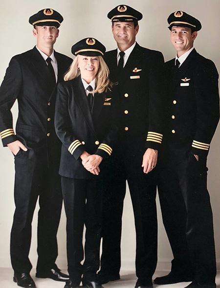 مدل لباس خلبانی,لباس فرم خلبانی