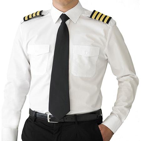 ویژگی لباس فرم خلبانی مسافربری, خصوصیات لباس خلبانی مسافربری