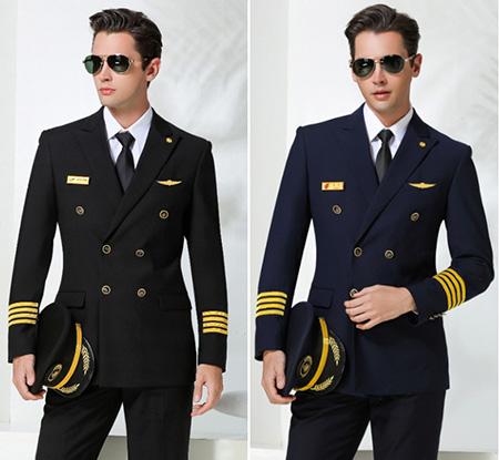 خصوصیات لباس خلبانی مسافربری, تصاویر مدل لباس خلبانی