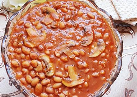 pinto bean recipe25 طرز تهیه خوراک لوبيا چيتی خوشمزه
