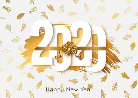 poster2020 greeting11 پوستر تبریک سال 2020