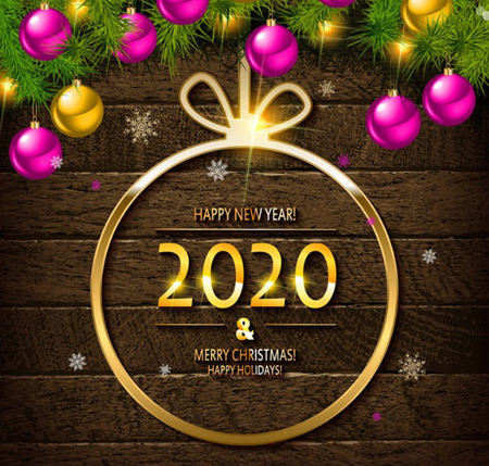 poster2020 greeting2 پوستر تبریک سال 2020