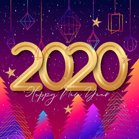 poster2020 greeting7 پوستر تبریک سال 2020
