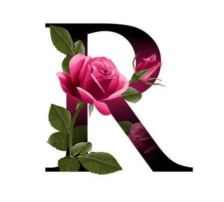 profile pictures letter r15 تصاویر حروف پروفایل r