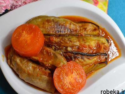 pumpkin2 eggplant1 stew1 طرز تهیه خورش کدو و بادمجان