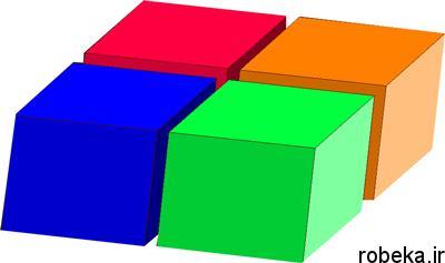 puzzle rectangular1 1 معماي رياضي: مكعب مستطيل قطعه قطعه شده!