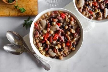 quick2 cooking1 beans3 روش های پخت سریع حبوبات