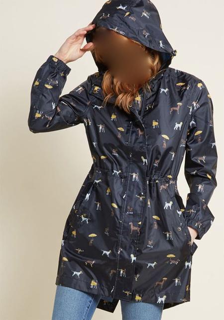 مدل بارانی طرح دار, مدل بارانی دخترانه