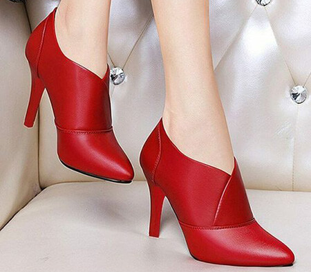 مدل کفش مجلسی قرمز, مدل های کفش قرمز