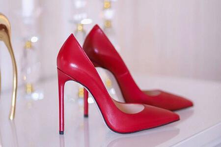 مدل کفش قرمز دخترانه, مدل های کفش قرمز زنانه