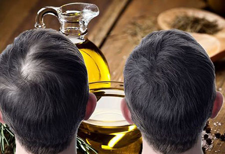 rosemary oil 03 آشنایی با خواص روغن رزماری برای زیبایی