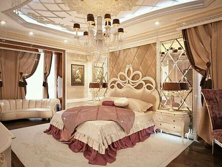 دکوراسیون اتاق خواب, دکوراسیون اتاق خواب سلطنتی