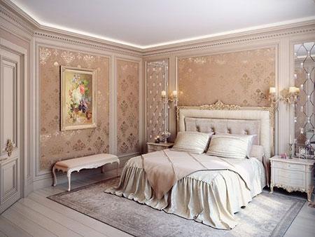 شیک ترین اتاق خواب های سلطنتی, مدل اتاق خواب
