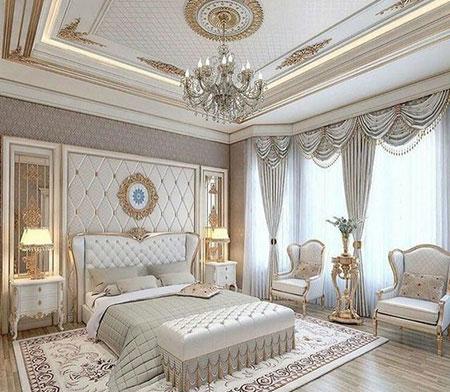 دکوراسیون اتاق خواب سلطنتی, دکوراسیون سلطنتی اتاق خواب