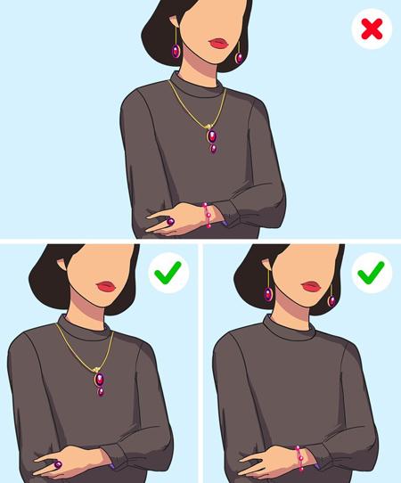 اشتباهات لباس پوشیدن خانم ها,مهارت های لباس پوشیدن خانم ها