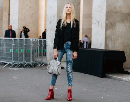 set1 boot1 jeans1 راهنمای ست کردن بوت با شلوار جین
