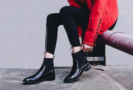 set1 boot1 jeans13 راهنمای ست کردن بوت با شلوار جین
