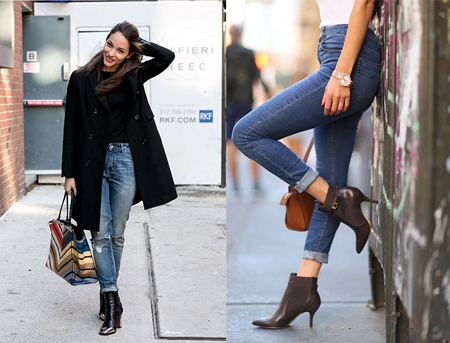 set1 boot1 jeans5 راهنمای ست کردن بوت با شلوار جین