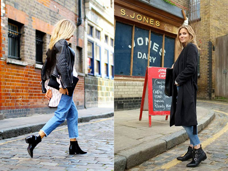 set1 boot1 jeans6 راهنمای ست کردن بوت با شلوار جین