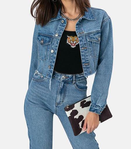 مدل های لباس با کت جین, ست کردن لباس با کت جین, روش ست کردن لباس با کت جین