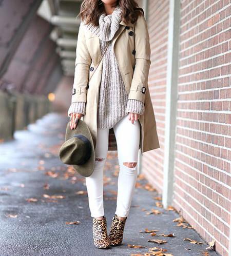 ست لباس پاییزی با بوت پلنگی, ست لباس زمستانی با بوت پلنگی