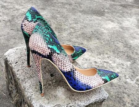 مدل کفش پوست ماری, مدل کفش پلنگی