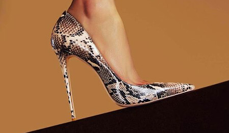کفش با طرح پوست, کفش پوست حیوانات