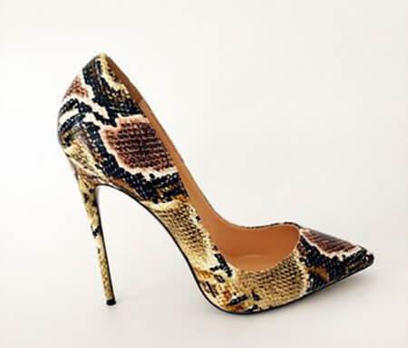 کفش پوست حیوانات, مدل کفش پوست ماری