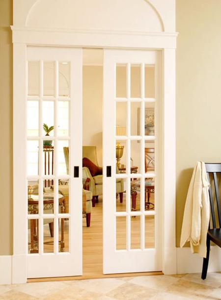 تصاویر جدیدترین درب های کشویی, درب کشویی چوبی