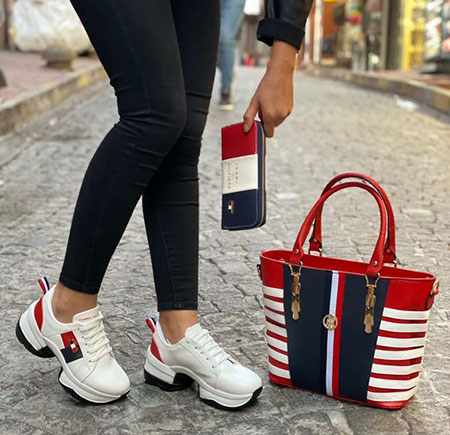 sports2 bag1 shoe1 set15 ست کیف و کفش اسپرت