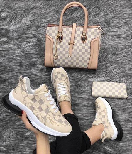 جدیدترین مدل های ست کیف و کفش اسپرت, ست های شیک کیف و کفش