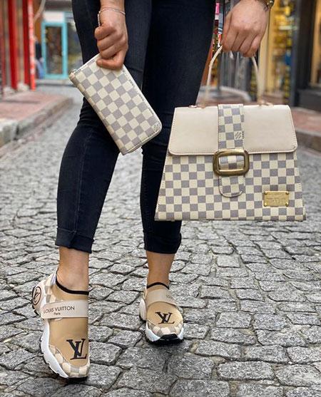 ست کیف با کفش اسپرت, مدل ست کیف و کفش اسپرت