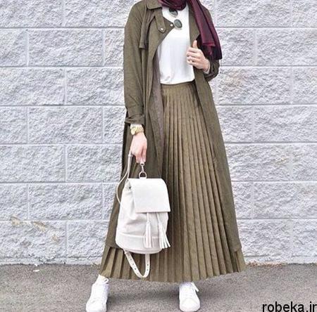 styles2 long2 skirts1 ست های پیشنهادی با دامن های بلند