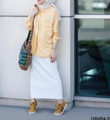 styles2 long2 skirts3 ست های پیشنهادی با دامن های بلند