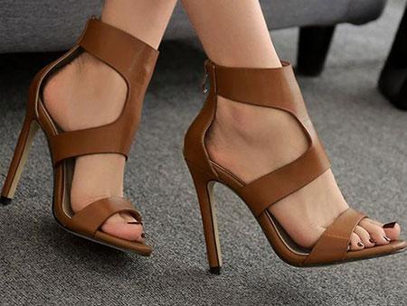 summer1 heel shoes1 مدل های کفش تابستانی پاشنه دار