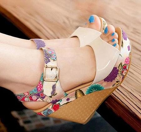 summer1 heel shoes2 مدل های کفش تابستانی پاشنه دار