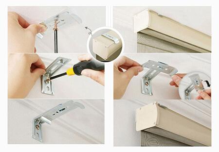 tips1 installing1 shutters1 اموزش نصب پرده های جدید