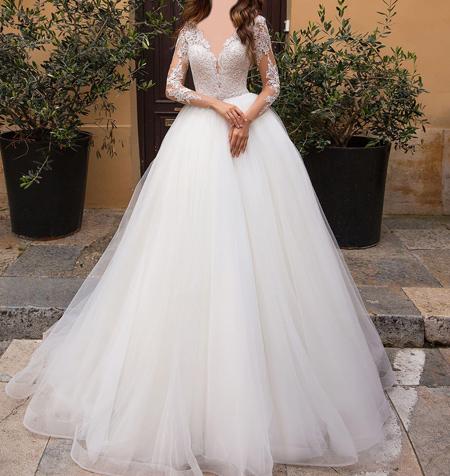 tips3 choosing3 bridal2 dress12 آشنایی با انواع لباس عروس + نکاتی برای انتخاب لباس عروس