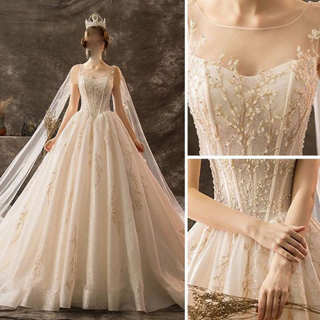 tips3 choosing3 bridal2 dress14 آشنایی با انواع لباس عروس + نکاتی برای انتخاب لباس عروس