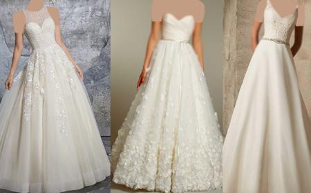 tips3 choosing3 bridal2 dress4 آشنایی با انواع لباس عروس + نکاتی برای انتخاب لباس عروس