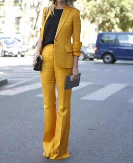 tips3 wasting2 pants14 مدل شلوار گشاد و ست کردن آن با مانتو + نکات پوشیدن شلوار گشاد