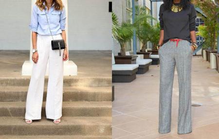tips3 wasting2 pants17 مدل شلوار گشاد و ست کردن آن با مانتو + نکات پوشیدن شلوار گشاد