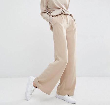 tips3 wasting2 pants2 مدل شلوار گشاد و ست کردن آن با مانتو + نکات پوشیدن شلوار گشاد