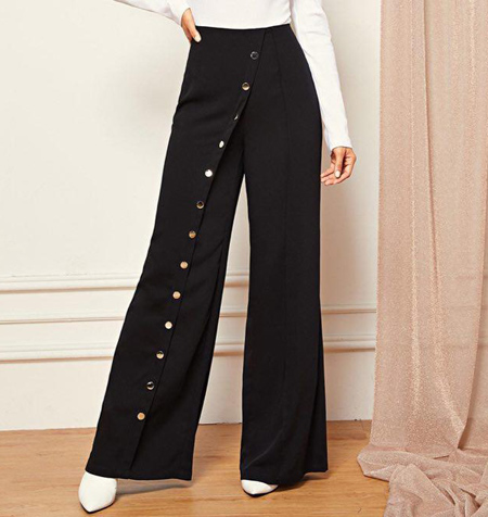 tips3 wasting2 pants20 مدل شلوار گشاد و ست کردن آن با مانتو + نکات پوشیدن شلوار گشاد