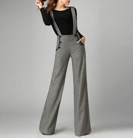 tips3 wasting2 pants21 مدل شلوار گشاد و ست کردن آن با مانتو + نکات پوشیدن شلوار گشاد
