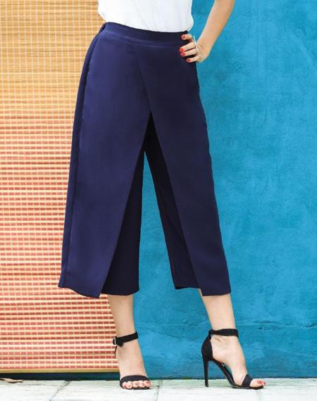 tips3 wasting2 pants24 مدل شلوار گشاد و ست کردن آن با مانتو + نکات پوشیدن شلوار گشاد