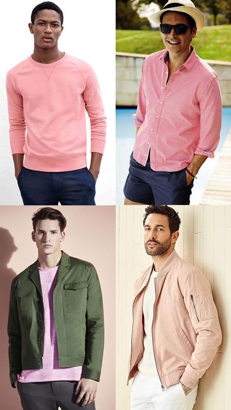 wear2 purple2 pink2 ایده های پوشیدن پلیور صورتی در فصل پاییز