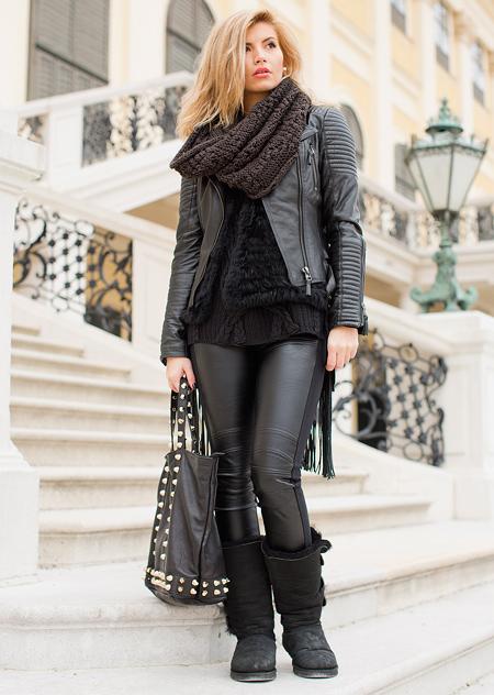 اصول و نحوه پوشش کت های چرم زنانه, راهنمای انتخاب و پوشیدن کت چرم زنانه