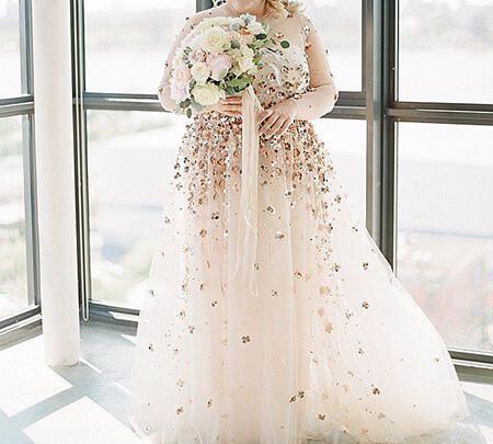 wedding1 dress1 obese16 مدل لباس عروس برای افراد چاق